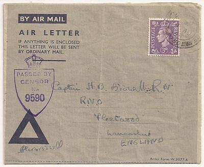 WWII British Letter. Killed in Action. South Staffordshire Regiment, Italy 1944.