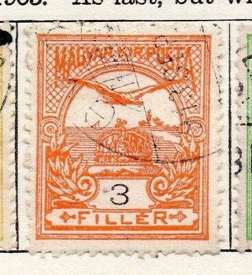Hungary 1905 Early Issue Fine Used 3f. 098759