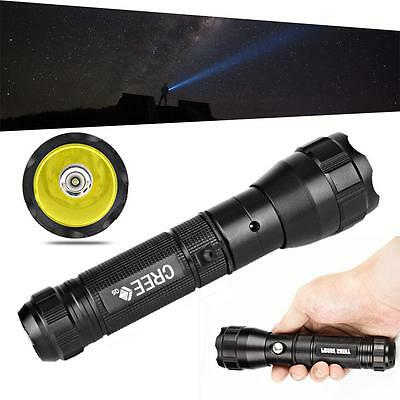 300 Lumen CREE Q5 LED Rechargeable 18650 Flashlight Torch Lamp Light Outdoor TS