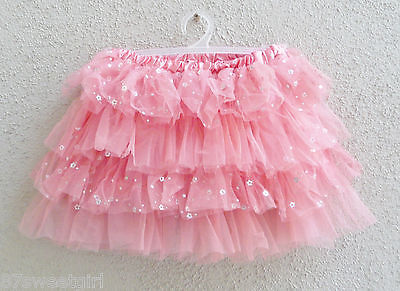Coral toddler layers soft tulle girl tutu skirt dancing size  2T 3T 4T 5 6