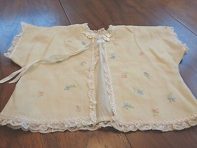 Antique Baby Jacket all hand made very special