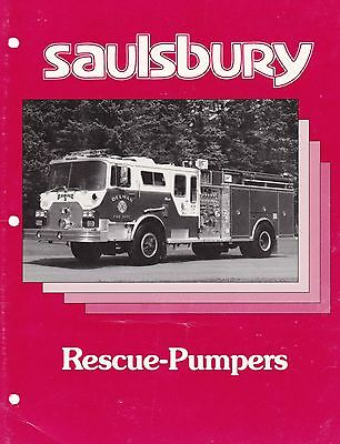 Saulsbury Rescue Pumps Brochure from USA