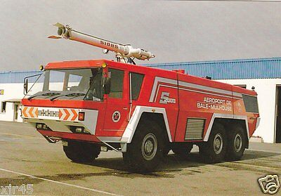 SIDES S2000 Crash Truck at The Aeroport International De Bale Mulhouse in France