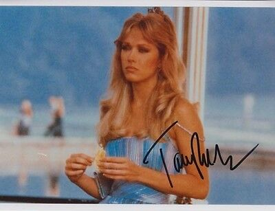 Tanya Roberts 007 James Bond Authentic Autograph As Tracey Sutton View To A Kill