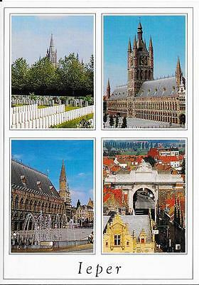 Ypres ( Ieper) - Views (Ref.1) - Unposted Postcard
