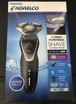 NEW Phillips Norelco Men's Electric Razor/Shaver 5800 for Wet & Dry Use (DS)