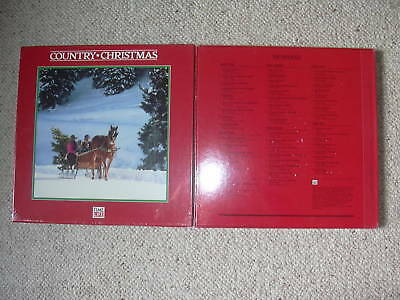Time Life Country Christmas 3 Lp Vinyl Record Box Set New Sealed Elvis 50 Songs