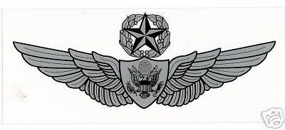 STICKER MILITARY - Army Master Aircrew Wings