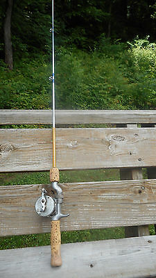 Gep Metal Casting Rod And Reel - Lot 127