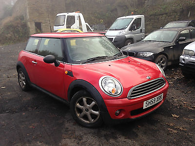 2009 Mini One Red Non Runner Spares Or Repair