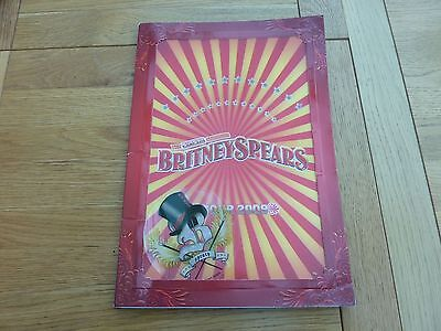 2009 Britney Spears Circus Tour Programme And London 02 Ticket Stub