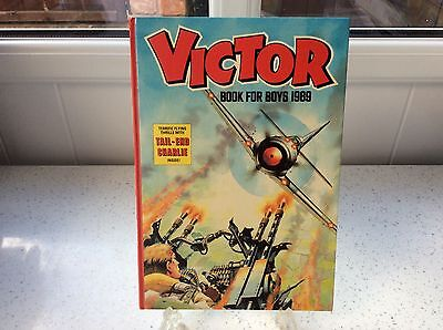 *victor Book For Boys ~ Annual 1989* H/b