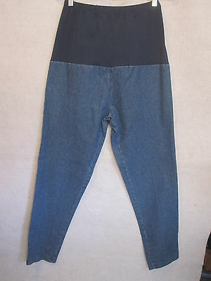 New Addition Maternity Pants Denim Jeans Size 6 Front Panel Jean