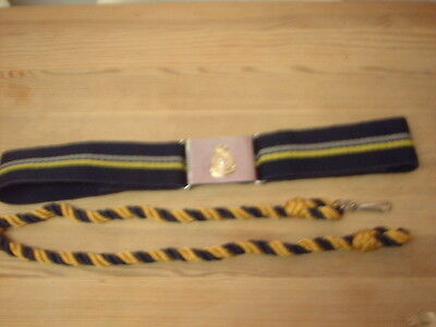 Army Catering corps stable belt used With Lanyard