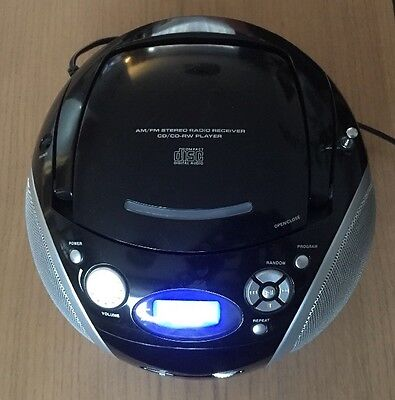 Woolworths CD 205 Portable Radio CD Player in Good Condition