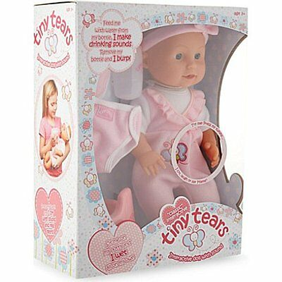 Classic TINY TEARS INTERACTIVE DOLL with SOUND Crying Wetting Talking John Adams