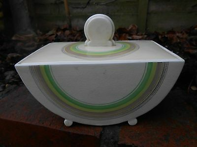 Clarice Cliff Art Deco Rare Bonjour Tureen Must See