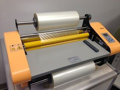 "13.7"" (358mm) Thermal Roll Laminating Machine Finishing Bindery Office Laminator"