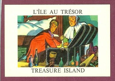 1964 PARKHURST L'ILE AU TRESOR Treasure Island Grant Production card NO.10