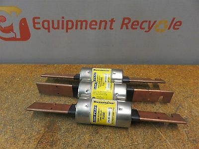 Bussmann Buss Low-Peak Time Delay Fuses LPS-RK-200SP 600VAC Lot of 3 New