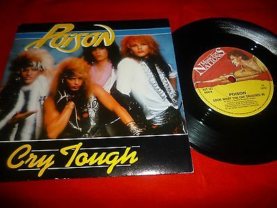 Poison Cry Tough / Look What The Cat Dragged In 45 Rpm 5/7