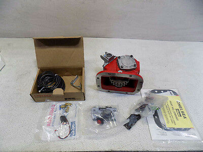 Chelsea 489XFAHX-V3XQ Chelsea Two Gear 8 Bolt Pto w/ Eletric Connector,Stud Kit