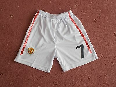 Manchester United FC football shorts 12 years #7