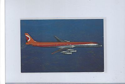 CP Air airlines issued super DC-8  postcard
