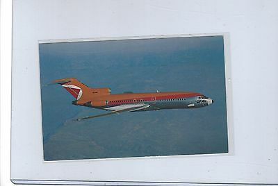 CP Air airlines issued Boeing 727  postcard