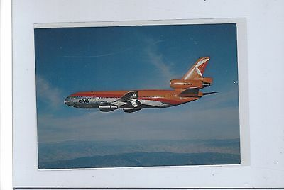 CP Air airlines issued?  DC-10-30 cont/l  postcard