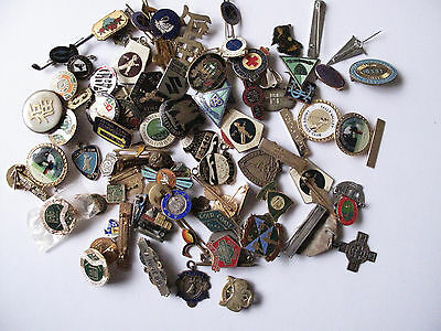 Collection of Mixed Pins & Enamel Badges - Free Postage