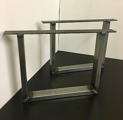 Set Of Industrial Steel Metal legs For Coffee Table -Square Design