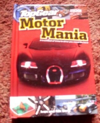 Top Gear Motor Mania Hardback Book Signed  By One Of The Stig's A Good Conditio