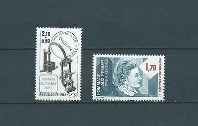 FRANCE - 1985 YT 2361 à 2362 - TIMBRES NEUFS** LUXE