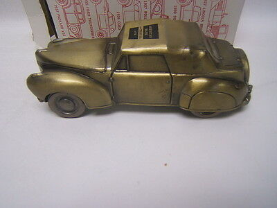 Brass Bank American Bank & Trust Co. of PA 1941 Lincoln Continental Banthrico