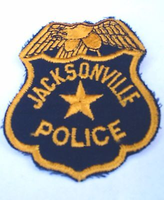 Jacksonville (Unknown State) Police  Shoulder Patch, Old!