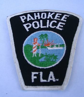 Pahokee  (Florida) Police  Shoulder Patch, Old!