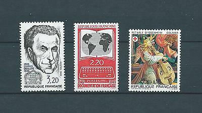 FRANCE NANTES - 1985 YT 2390 à 2392 - TIMBRES NEUFS** LUXE