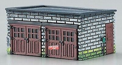Imex N Scale 2 Car Garage Resin Built-Up Building