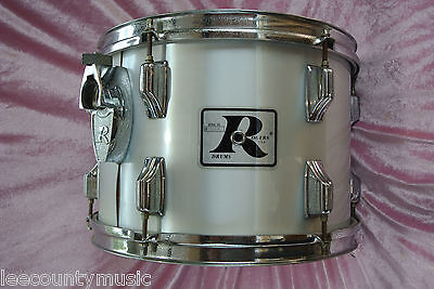 "1970's Rogers USA 13"" METALLIC SILVER MEMRILOC TOM for YOUR DRUM SET! #T659"