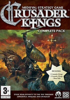 Pc-Crusader Kings Complete Pack [De-Version]-Software Unknown New