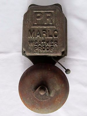 Pr Marlo Weather Proof School House Fire Alarm Bell - For Restoration
