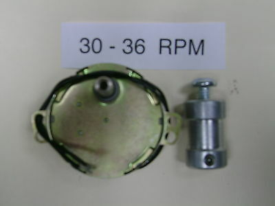 30 -36 RPM Dryer-Drying Motor with  SHAFT COUPLER