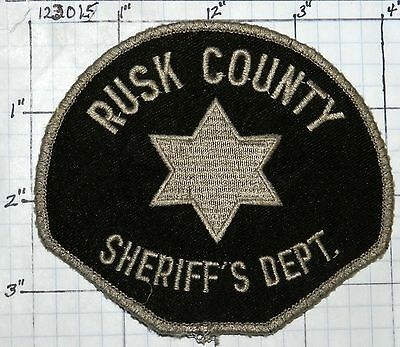 Texas, Rusk County Sheriff's Dept Patch
