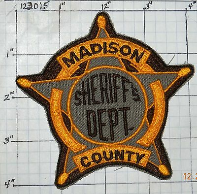 Texas, Madison County Sheriff's Dept Patch