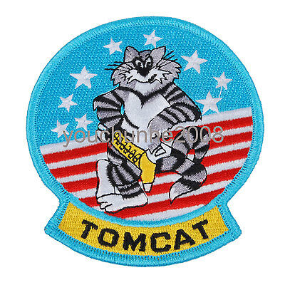 Us United States Military Tomcat Embroidered Patch -32275