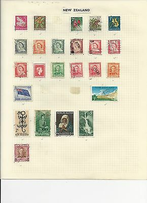NEW ZEALAND - SMALL PRE-DECIMAL COLLECTION - #NZ5ab - 2 SCANS