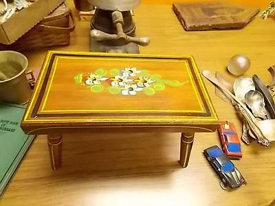 Vintage Hand Painted Child's Bench