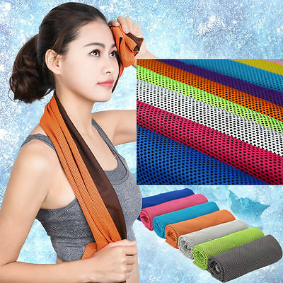 Cool movement cold towel running sweat - drying towel yoga fitness cooling towel