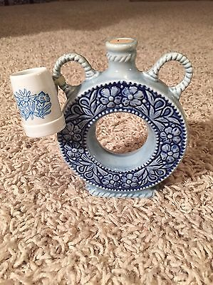 Vintage Germany Decanter And Shot Glass